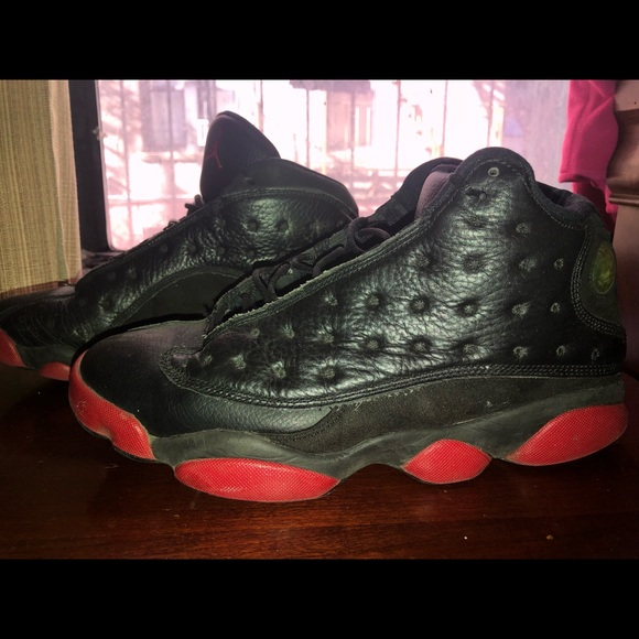 free shipping 1d7f0 12f87 2014 JORDAN 13s DIRTY BRED, BLACK AND RED SIZE 9